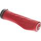 Ergon GA3 Bike Grips red/black